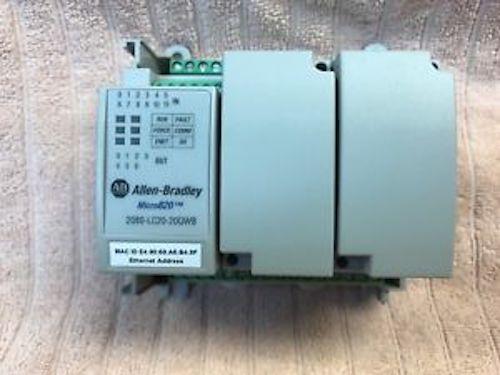 2080-LC20-20QWB Allen Bradley Micro820 PLC System