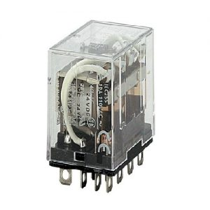 LY4N 220VAC   OMRON   Power Relay, plug-in, 14-pin
