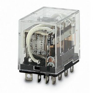 LY4N 24VDC   OMRON   Relay, plug-in,10 A, LED indicator, 24 VDC