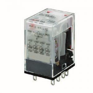 MY4N GS 24VDC   OMRON   Relay, plug-in, Mechanical & LED indicator